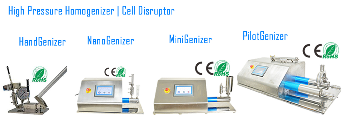 Genizer High Pressure Homogenizer
